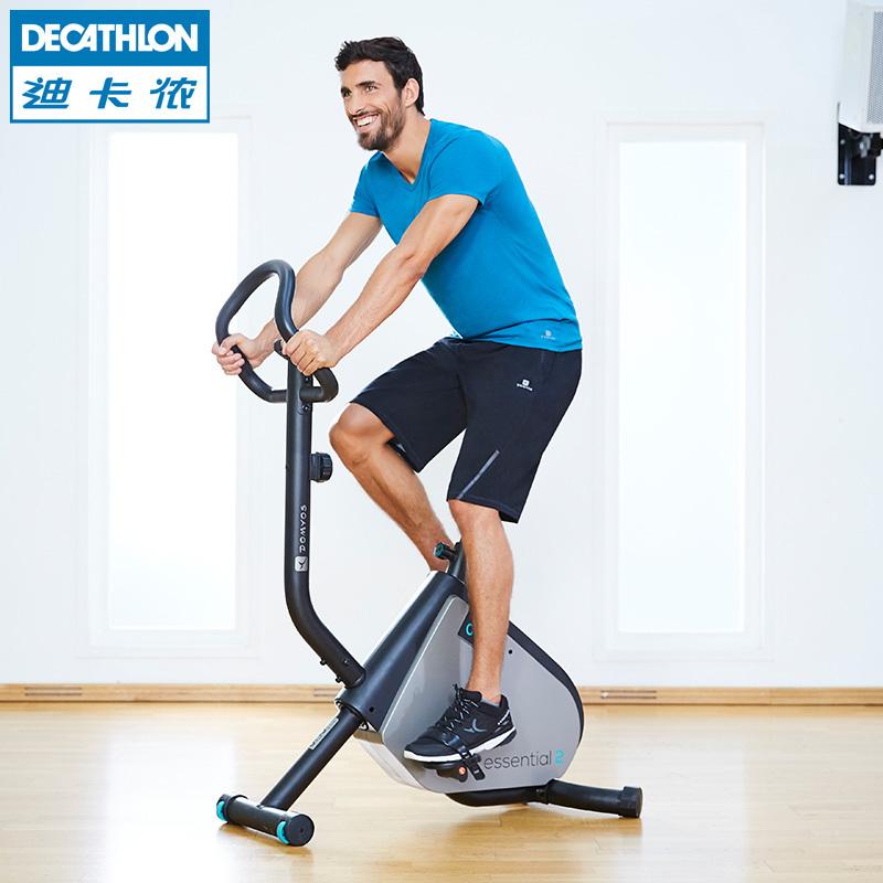 迪卡侬动感单车健身自行车家用室内静音减肥器domyos健身车FIC QC
