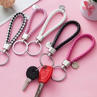 老鼠钥匙链小挂件装饰品网红彩色圆适用大同学家设计毛球男友大号