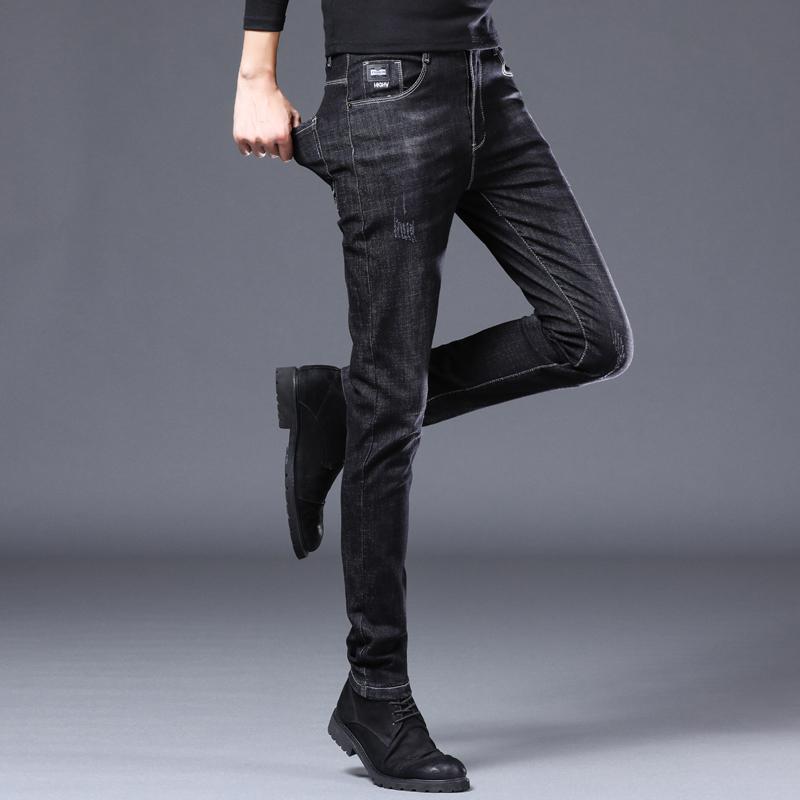 春季弹力男士休闲修身小脚牛仔裤好用吗
