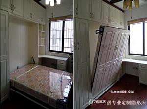 隐形床五金配件电动隐形床衣柜一体隐形床小户型墨菲床电动上翻床