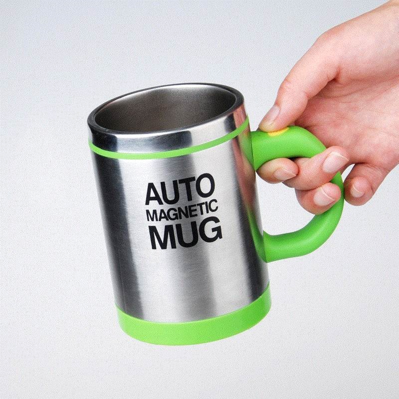 Automatically stir the coffee cup magnetization