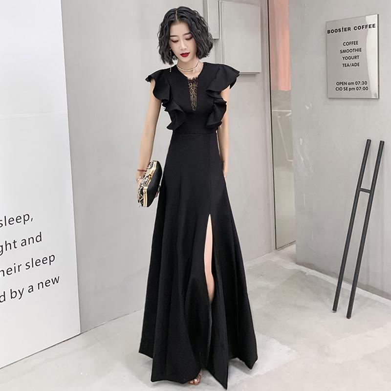 晚礼服女气质夏2021新款宴会高贵优雅连衣裙轻奢小众高端平时可穿