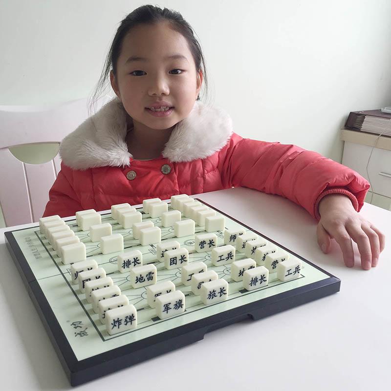 Высококачественный твердый маджонг материал армия флаг наземные битвы шахматы бесплатная доставка армия шахматы дети студент 2 человек сложить шахматная доска армия шахматы