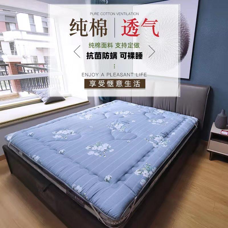11-29新券纯棉褥子卡通1.8 m防滑厚薄床垫
