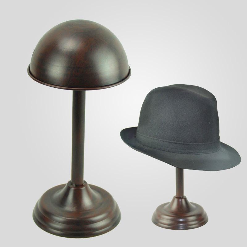 Европейский шкаф стойки стойки t железный кронштейн Hat поддержки шляпу стойку шапка Показать реквизиты шапка Подставка для дисплея