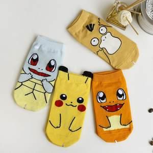 。口袋妖怪皮卡丘打底袜口袋丝袜卡袜子卡通短袜美腿袜短袜