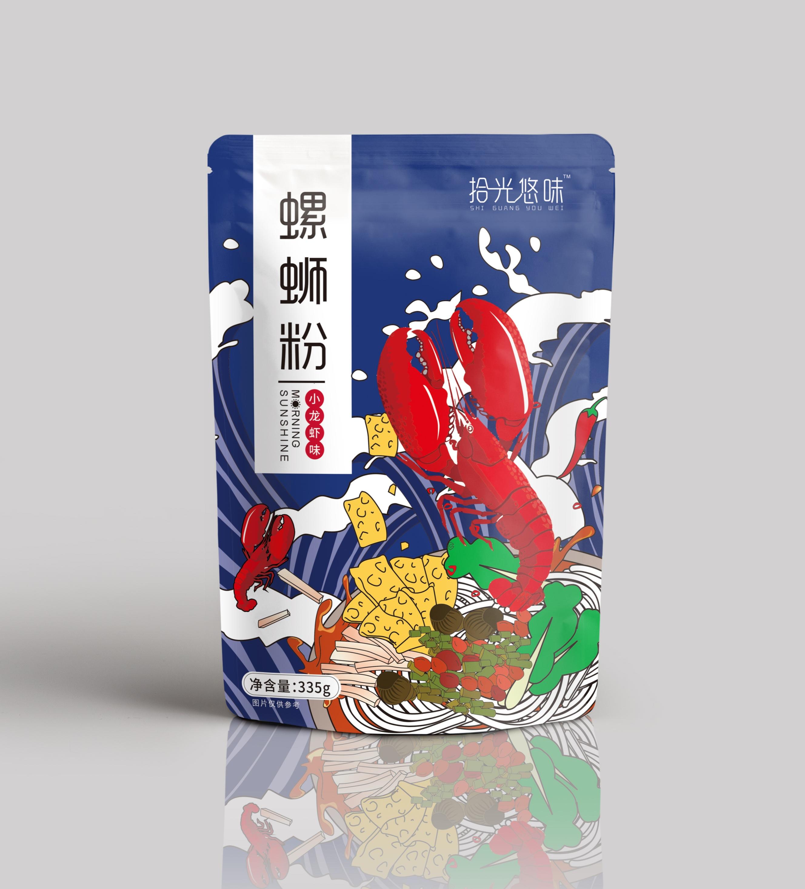 【拾光悠味】柳州螺蛳粉990g*3包