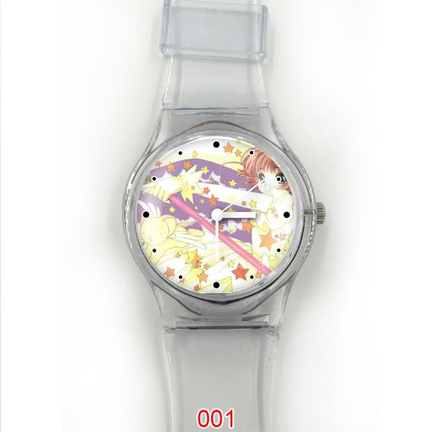 透明女款塑胶手表东京巴比伦定制夏款女士石英小清新手表 9114