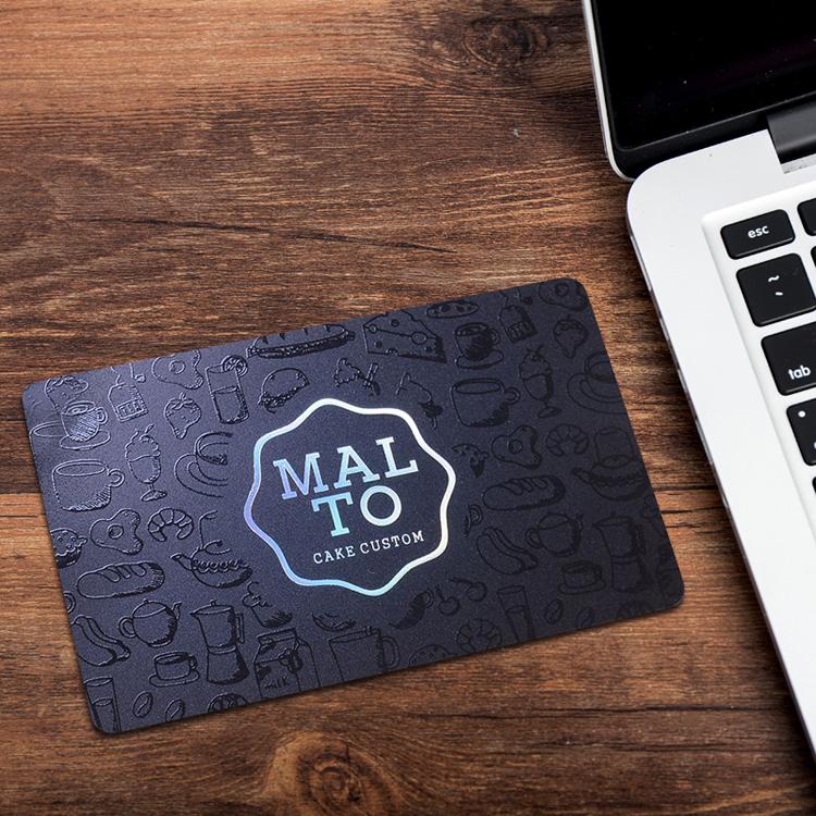 会员卡定制订做vip卡磁条卡pvc卡会员管理系统金属贵宾卡设计制作酒店美容院芯片美甲餐饮理发店订制idic黑卡