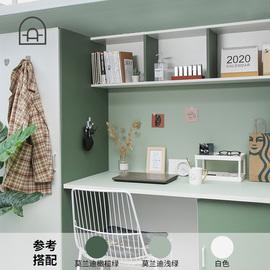 宿舍自粘墻紙 加厚pvc防水潮寢室壁紙莫蘭迪純色家具墻面翻新貼紙圖片