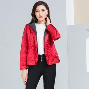 敦系列秋冬装女短款长袖棉服棉衣三色袄子上衣外套品牌折扣正品