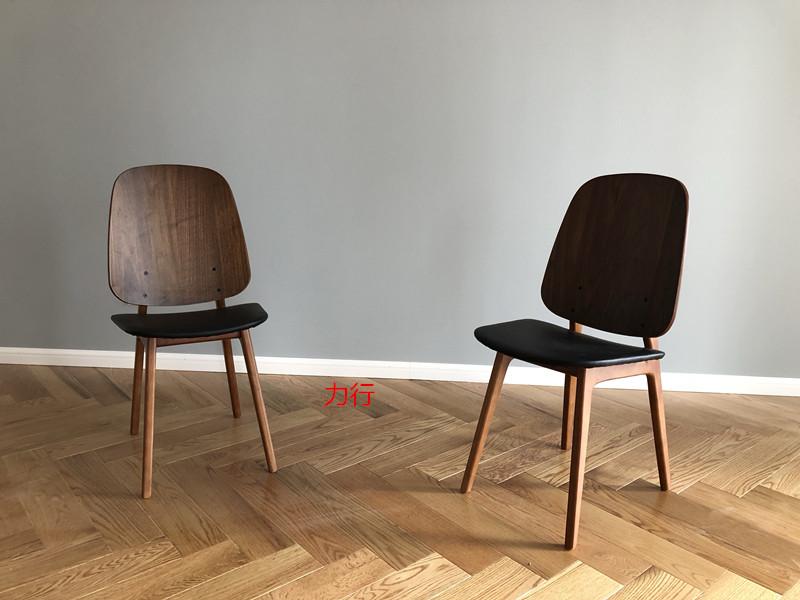 促销丹麦大师设计出口丹麦原单正品北欧餐椅酒店椅实木椅子家具