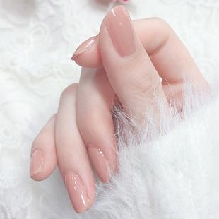 指甲油女持久可撕拉免烤快干无毒无味护甲油秋冬色系透明裸色防水品牌