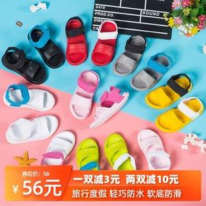 女童防滑软底男婴幼塑料防水沙滩鞋