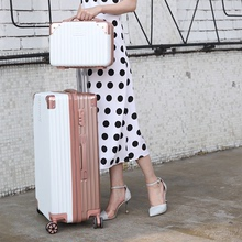 Nippon pull-rod suitcase, female collision colour suitcase, suitcase, suitcase, suitcase, password box 2426 28, male large-capacity suitcase for students