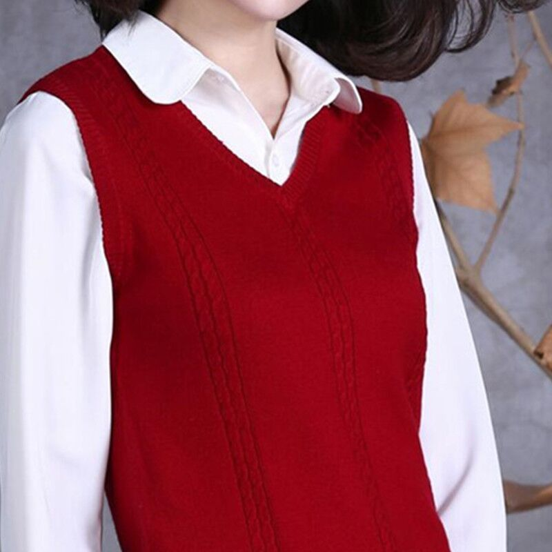 Sweater, waistcoat, mens and womens short, thin and versatile in autumn and winter