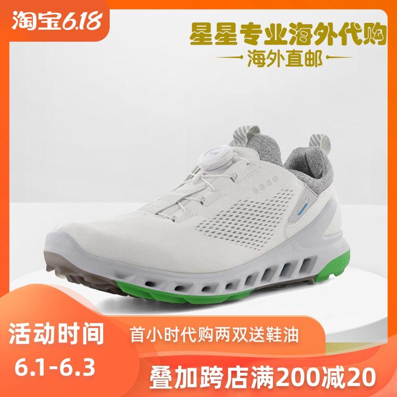 ECCO爱步2020新款男鞋自动锁扣高尔夫球鞋健步鞋102114代购