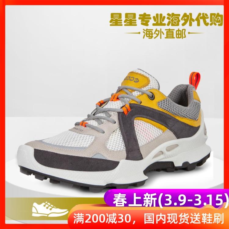 ECCO爱步2020春季运动休闲鞋跑步鞋老爹鞋男健步C踪迹803104代购