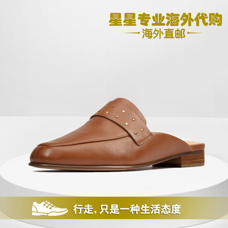 clarks其乐2020春夏新款包头半拖穆勒鞋单鞋女Pure Mule正品代购