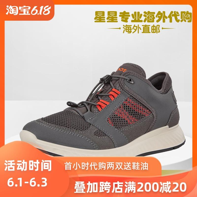 ECCO爱步2020春季新款运动休闲鞋透气跑步鞋男鞋 突破835324代购