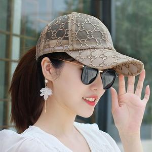 韩版棒球帽夏季网纱户外透气帽子