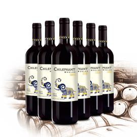 智利進口紅酒正品智象美露干紅葡萄酒整箱750ml*6瓶聚會餐酒圖片