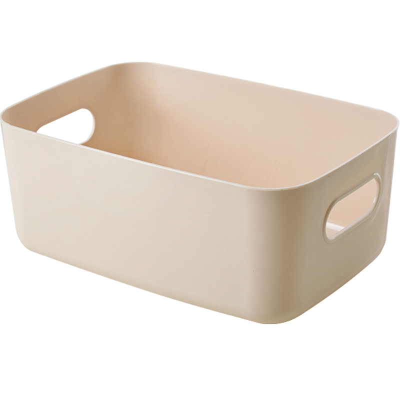 杂物收纳筐学生桌面零食储物盒3个装