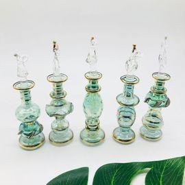 单个 埃及特色香精瓶7cm 迷你 香水瓶扩香家居软装水晶玻璃装饰