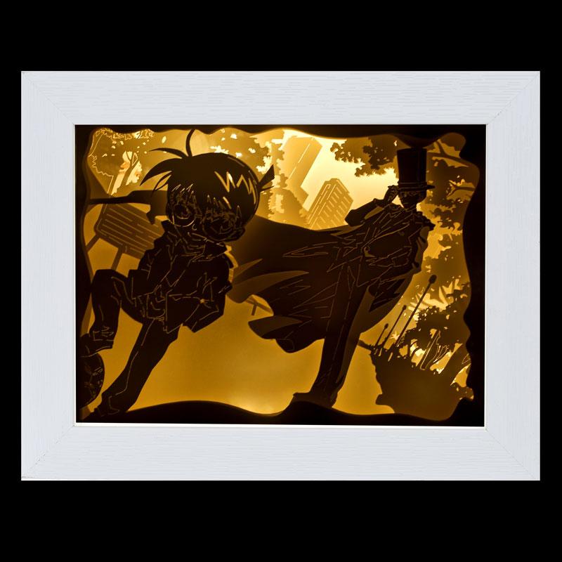 Conan DIY paper carving lamp cultural creation product character 3D solid carving small night lamp handmade material bag