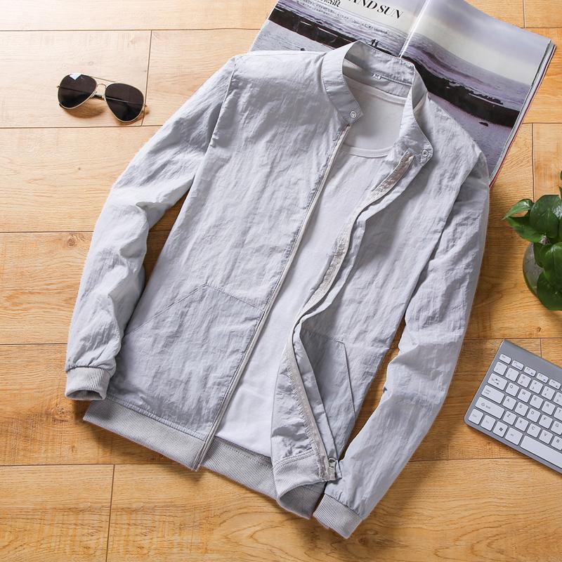 男装超值好货夏季皮肤衣户外帅气休闲外套韩版潮流轻薄透气防晒衣19.80元包邮