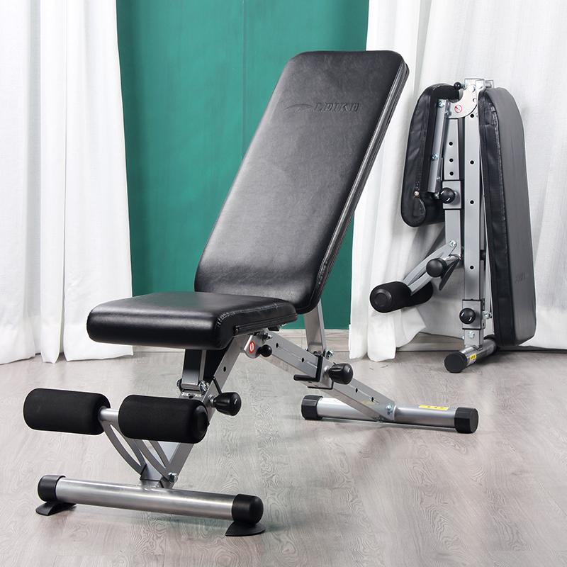 雷克功能多哑铃凳折叠卧推凳健身椅仰卧起坐辅助神器健身器材家用