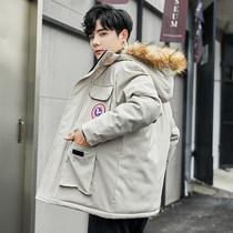 男士冬季加厚棉服潮流宽松面包衣服羽绒棉外套男装棉衣韩版棉袄子