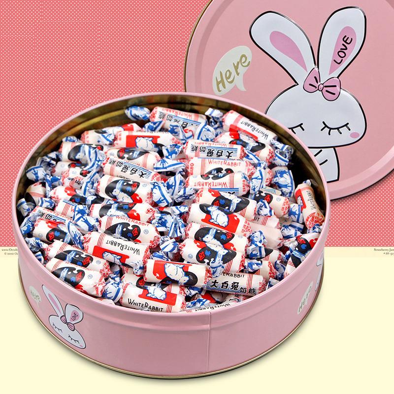 大白兔500g大礼包礼盒装送闺蜜奶糖11-29新券