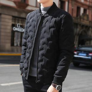 韩版 棉衣男士 修身 羽绒棉服男潮流搭配冬装 棉袄 外套春季 2020新款