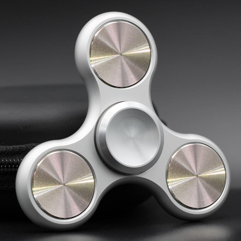 指尖陀螺手指陀螺解压神器美国进口合金成人减压玩具指间强力螺旋