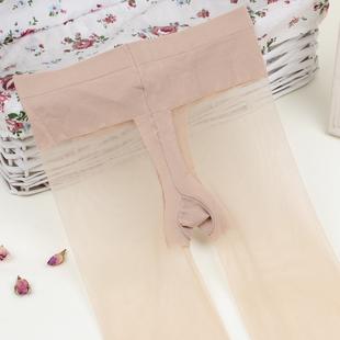 超薄3d连裤t裆低腰无痕隐形连裤袜
