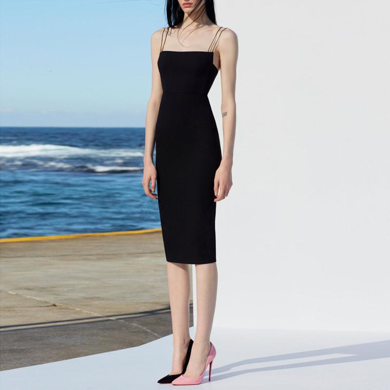 吊带晚礼服裙子平时可穿2021新款宴会小礼服短款气质名媛连衣裙女