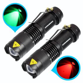 红光手电筒可充电伸缩调焦远近光笔