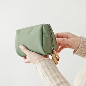 化妆包ins风超火化妆袋女便携迷你旅行随身口红包小化妆品收纳包