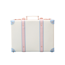 Urecity mini-cosmetic suitcase, cosmetic bag, 16 inch suitcase, password cute small suitcase, travel 14/12 inch