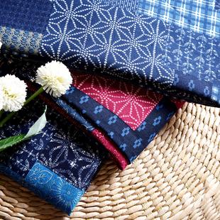 民族风波西米亚面料印花棉麻服装 布料复古手工DIY桌布拼布东南亚
