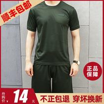 正品体能服短袖套装t恤男夏季新式军训速干短裤作训07武体训练服