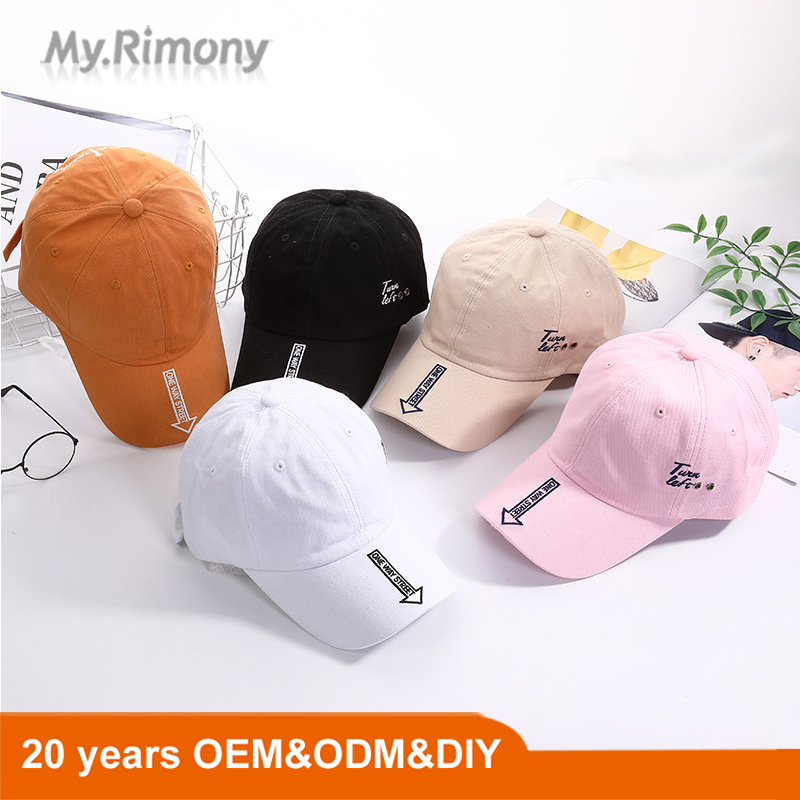 2020 new fashion spring and autumn sun proof baseball cap durable and practical pure cotton sun sun shading duck tongue hat