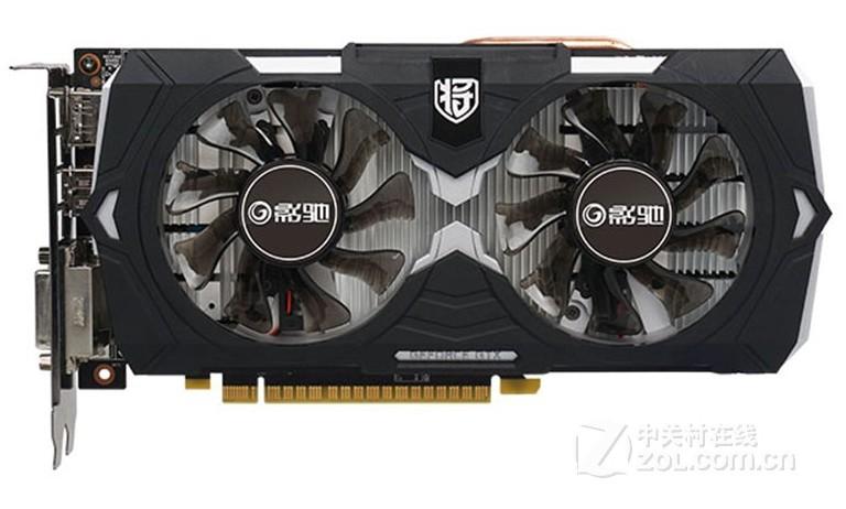 影驰显卡GTX1050 骨灰黑将/GAMER 2G DDR5?#28304;?#39640;端游戏显卡 包邮