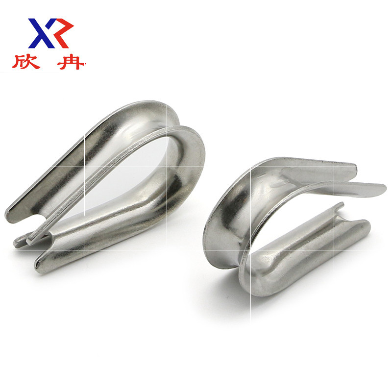 304 stainless steel ferrule chicken heart ring Kuai triangle ring steel wire rope ferrule M12