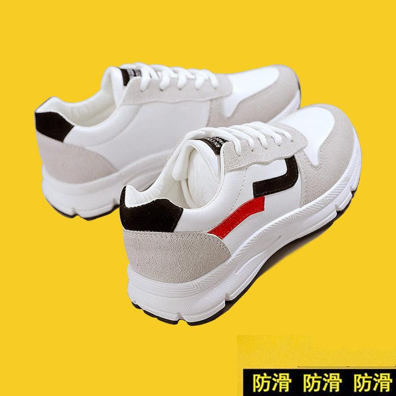 タオバオ仕入れ代行-ibuy99|运动鞋|春季鞋子女新款网红运动鞋女学生韩版百搭平底休闲软底轻便跑步鞋
