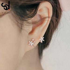 超仙森系仙气耳夹无耳洞女高级感耳骨夹耳挂假耳环免耳洞耳钉耳饰