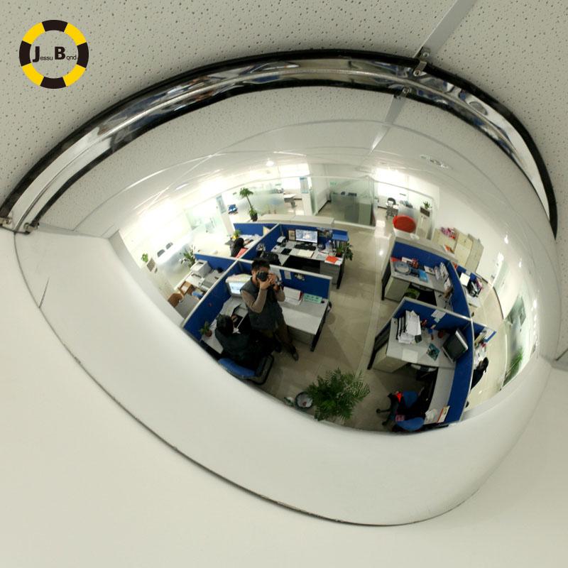 Jiebang 1/4 интерьер Cree сферический зеркало 30 см выпуклый супермаркет безопасности зеркало Широкое зрение и безопасность хранения полностью отражающий зеркало