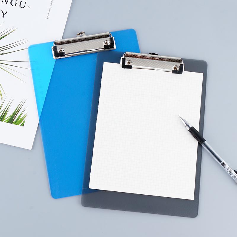 天色 板夹A4文件板夹写字垫板加厚文件夹板塑料资料垫板阅读板蝴蝶夹菜单A5夹子夹纸板记事板夹批发包邮