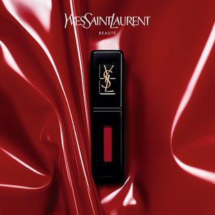 【新年礼物】YSL圣罗兰黑管唇釉闪耀持久唇彩番茄色口红416图片